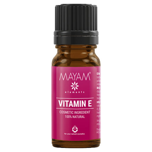 Vitamina E Naturală Uz Cosmetic, 10ml | MAYAM