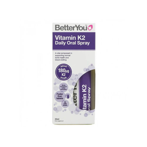 Vitamin K2 Oral Spray, 25ml | BetterYou