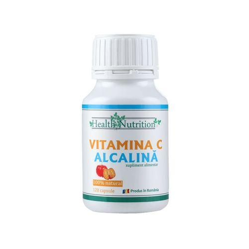 Vitamina C Alcalină, 120 capsule | Health Nutrition