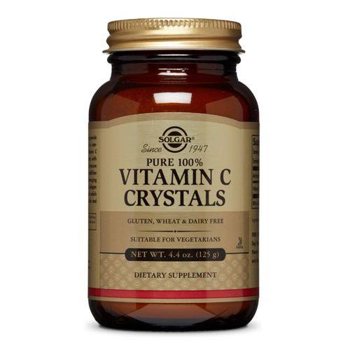 Vitamina C CRYSTALS (Acid L-ascorbic pur) 1125mg, 125g | Solgar