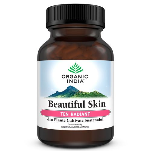 Beautiful Skin Ten Radiant 60 cps | Organic India