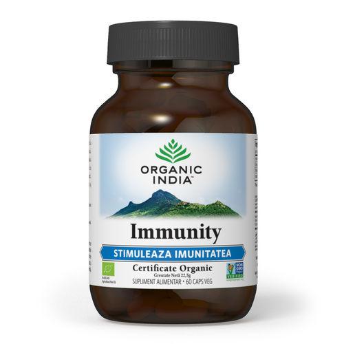 Immunity Imunomodulator Natural 60 cps | Organic India