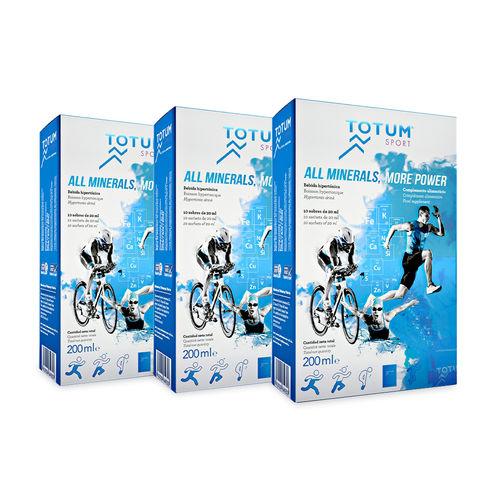 Pachet 3 x Totum Sport, 200ml | Laboratories Quinton