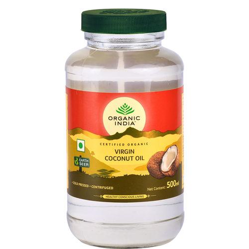 Ulei de Cocos Organic Extra Virgin 500ml   Extras la rece   Organic India