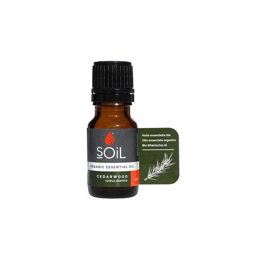 Ulei esenţial de Cedru (Cedarwood) Ecologic/Bio 10ml SOiL