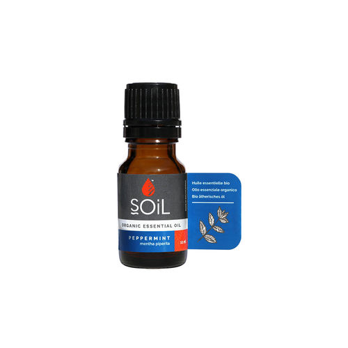 Ulei esenţial de Mentă Ecologic/Bio 10ml SOiL