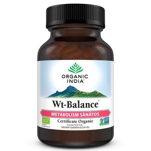 Wt-Balance™ Metabolism Sănătos 60cps | Organic India