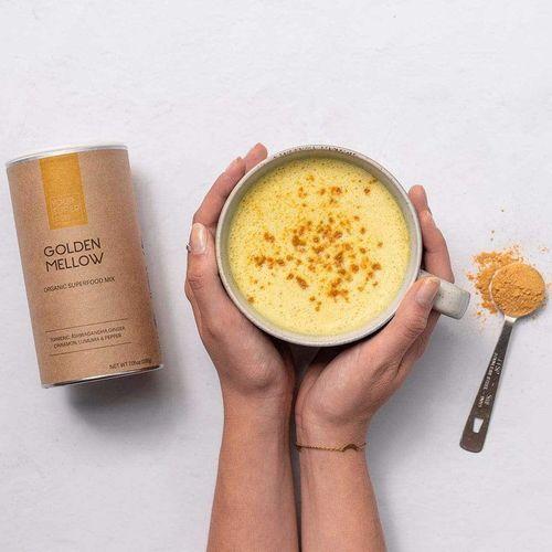 Pachet 3x GOLDEN MELLOW Organic Superfood Mix, 200g | Your Super