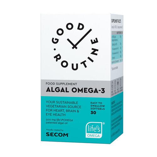 Algal Omega-3 Good Routine, 30 capsule moi