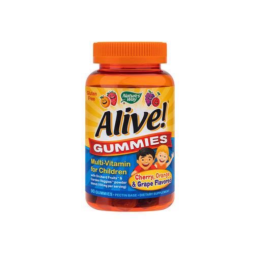 Alive! Gummies Multi-Vitamine pentru Copii, 90 jeleuri