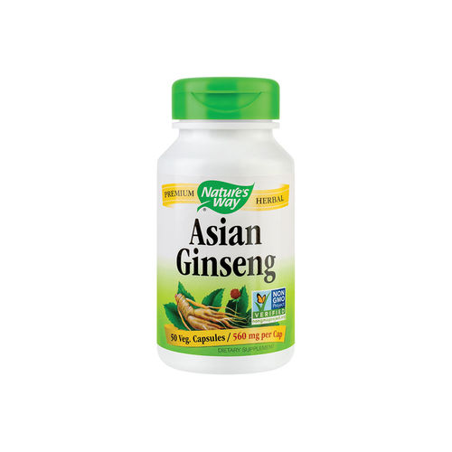 Asian Ginseng 560mg ,50 capsule vegetale