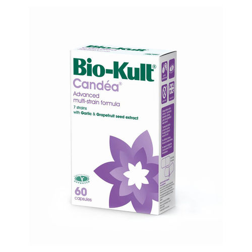 Bio-Kult Candéa Probiotice împotriva Candidozei, 60 caps imagine produs 2021 Bio-Kult viataverdeviu.ro