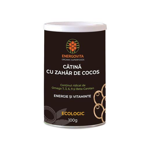 Cătină Ecologică cu Zahăr de Cocos, 100g
