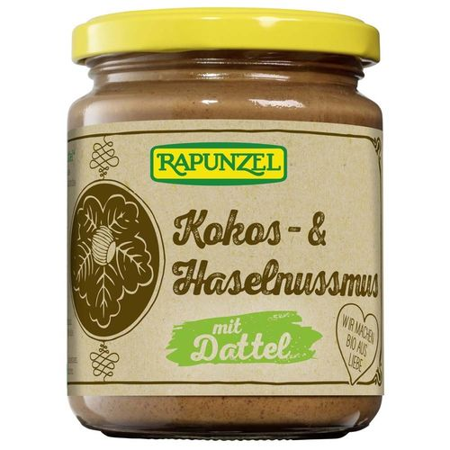 Crema de cocos alune si curmale FARA ZAHAR 250g