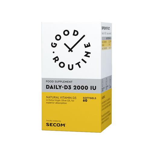 Daily-D3 2000IU Good Routine, 60 capsule