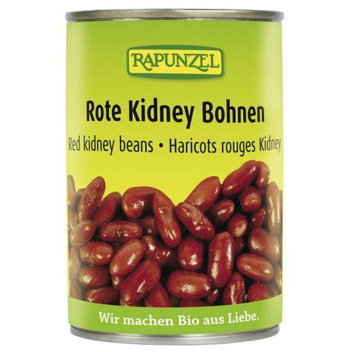 Fasole Kidney rosie in doza 400g