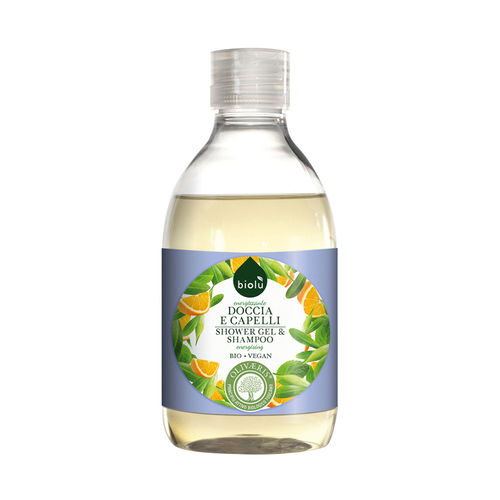 Gel de duș/șampon ecologic cu provitamina B5, 300ml