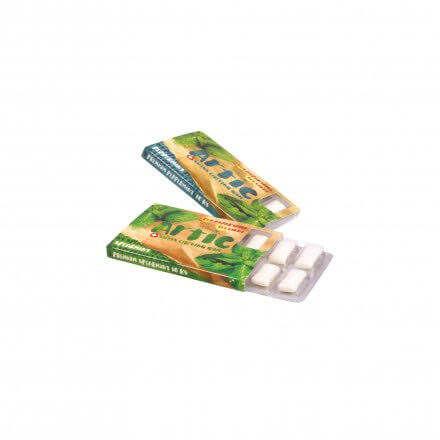 Gumă de mestecat fără zahăr PEPPERMINT, 10 buc
