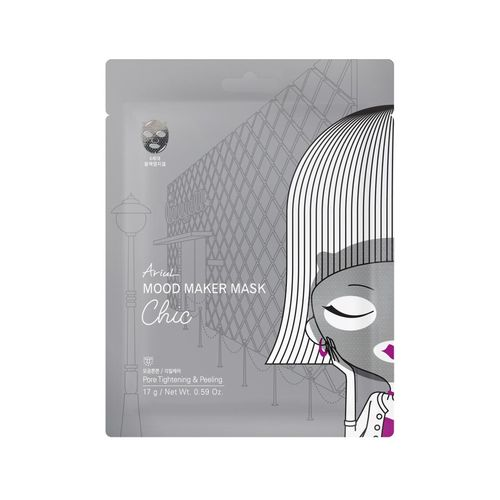 Mască Șervețel Mood Maker Mask Chic, Străngerea Porilor și Exfoliere Delicată, 17g