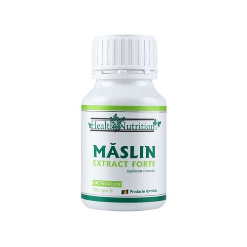 Măslin Extract Forte, 100% natural, 180 capsule