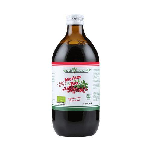 Suc de Merisor 100% Pur, Bio, 500 ml