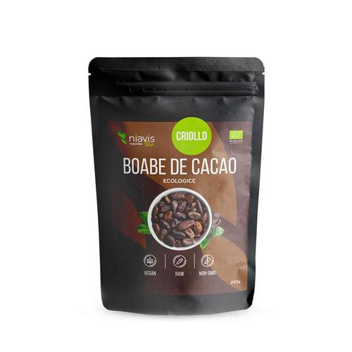 Boabe de Cacao întregi Ecologice/Bio 250g I Niavis imagine produs 2021 Niavis viataverdeviu.ro