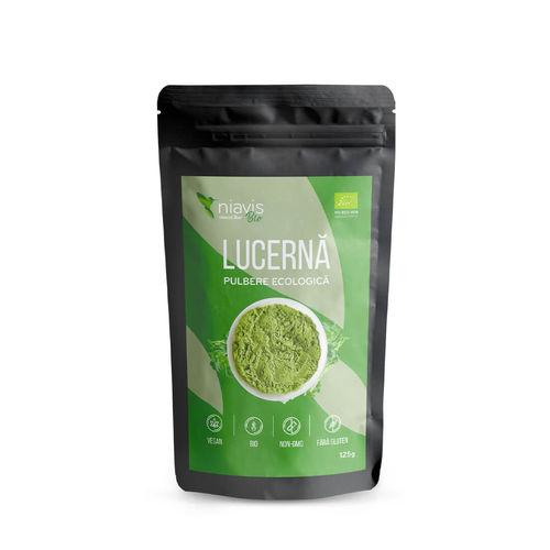 Lucernă (Alfalfa) Pulbere Ecologică/Bio 125g