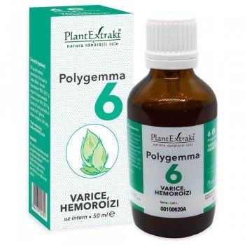 POLYGEMMA Nr.6 (Varice - Hemoroizi), 50ml
