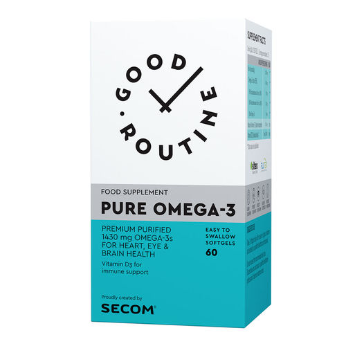 Pure Omega-3 Good Routine, 60 capsule moi