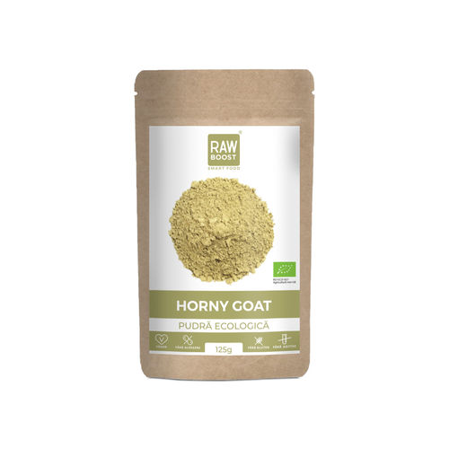Horny Goat Weed pudra ecologica 125g