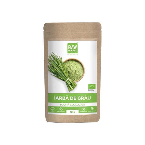 Iarbă de grâu pudră ecologică 125g