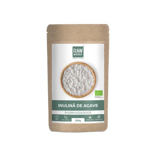 Inulină din Agave pudră ecologică, 200g
