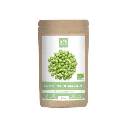 Proteină de mazăre pudră ecologică 250g