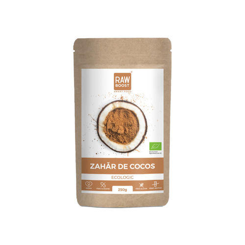 Zahăr de cocos ecologic 250g
