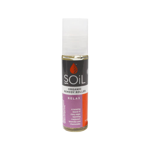 Roll-On Relax cu Uleiuri Esențiale Ecologice/Bio 11 ml
