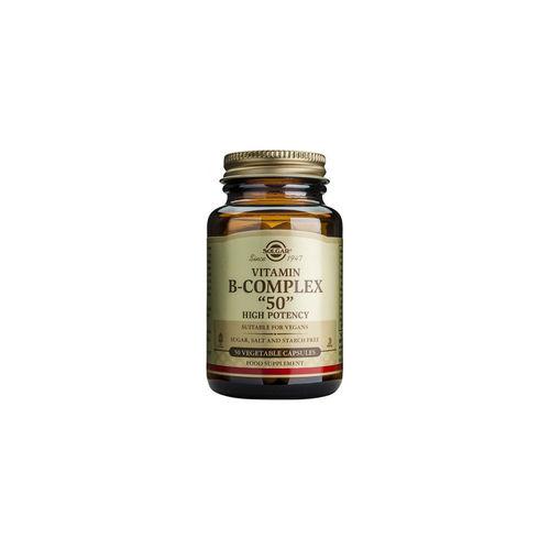 B-50 Complex de Vitamine B, 50 capsule vegetale