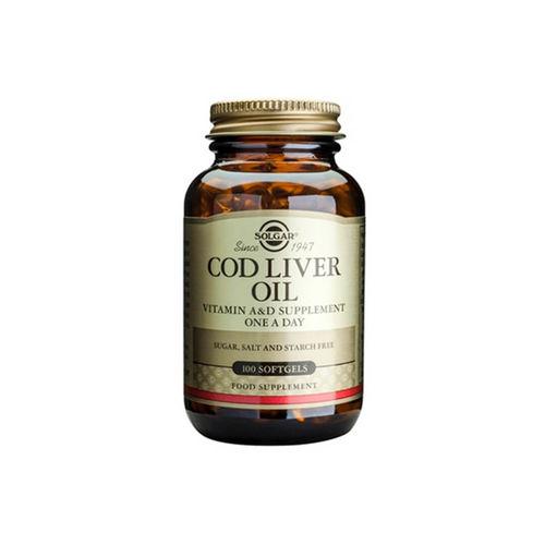 Cod Liver Oil 100 capsule moi