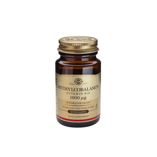 Methylcobalamin (Vitamina B12) 1000 μg, 30 tablete