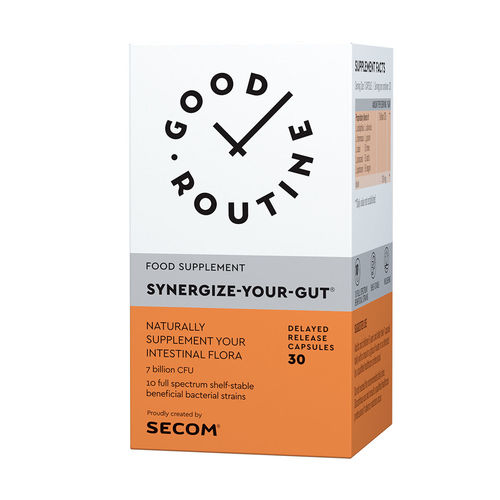 Synergize Your Gut Good Routine, 30 capsule vegetale