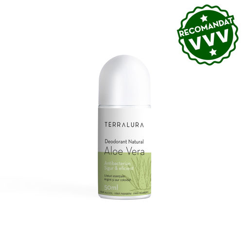 Deodorant Roll-on Natural Aloe Vera, 50ml