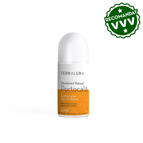 Deodorant Roll-on Natural Portocală, 50ml