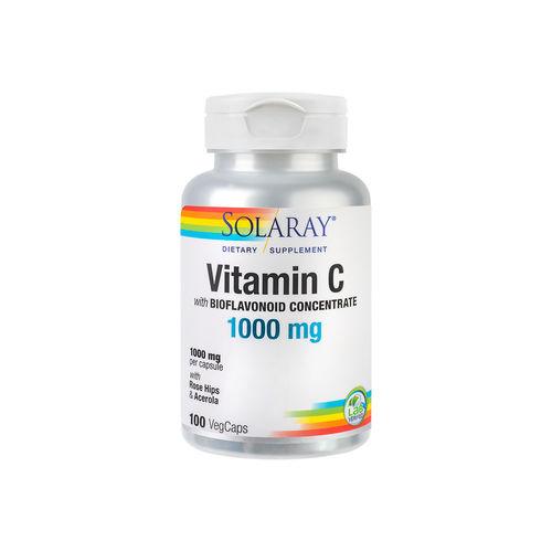 Vitamina C 1000mg (Adulți), 100 capsule vegetale