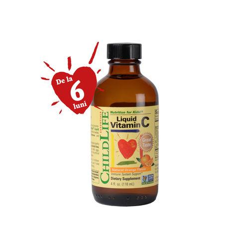 Vitamina C 250mg (copii), 118ml