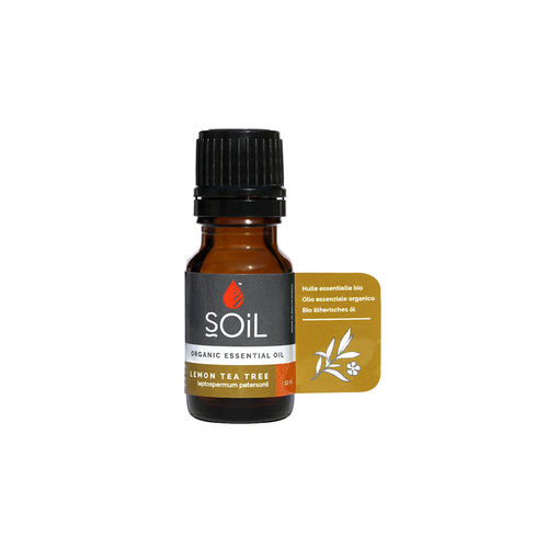 Ulei esenţial de Arbore de Ceai Lămâios (Lemon Tea Tree) Ecologic/Bio 10ml SOiL imagine produs 2021 SOiL viataverdeviu.ro