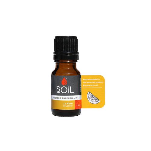 Ulei esențial de Lămâie (Lemon) Ecologic/Bio 10ml SOiL imagine produs 2021 SOiL viataverdeviu.ro