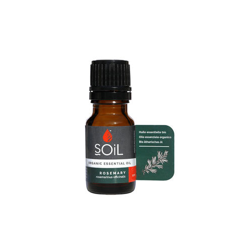 Ulei esenţial de Rozmarin (Rosemary) Ecologic/Bio 10ml SOiL imagine produs 2021 SOiL viataverdeviu.ro