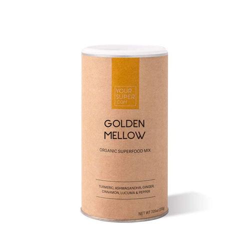GOLDEN MELLOW Organic Superfood Mix, 200g