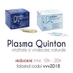 Plasma Quinton vindecare si revitalizare naturala reducere