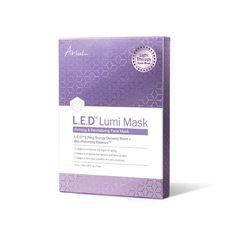 Set 5 x Mască Șervețel LED Lumi Mask cu Terapie cu Lumină - Fermitate și Revitalizare, 18ml | Ariul