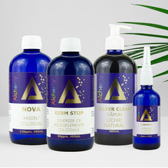 Pachet Antiviral cu produse coloidale | Pure Alchemy